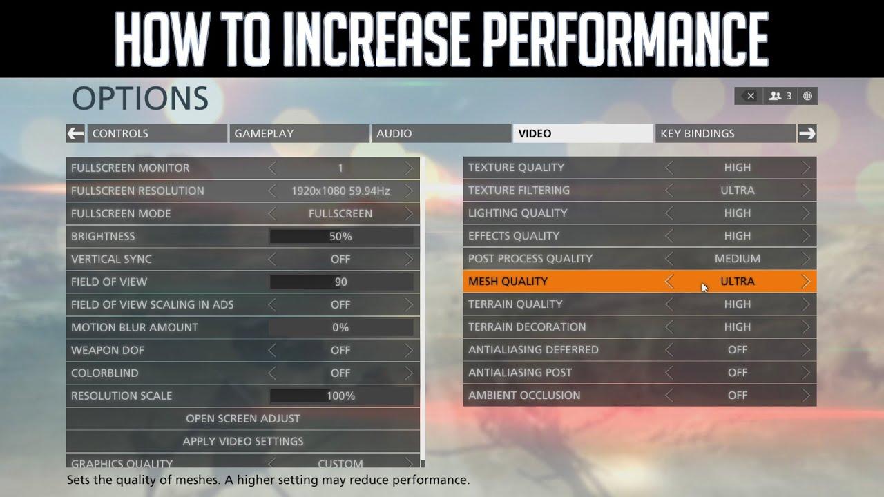 battlefield hardline tweak guide how to increase performance youtube rh youtube com PS3 Display Settings Menu PS3 XMB Menu