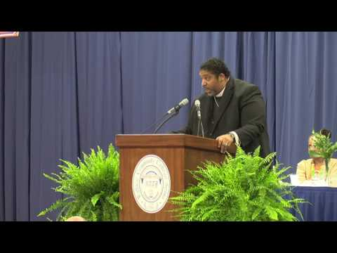 Rev. Dr. William Barber in Selma, Alabama keynote speech