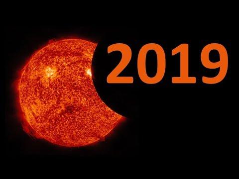 2019-cu ildə 3 dəfə Günəş tutulması olacaq