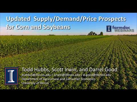 Updated 2016-17 and 2017-18 Supply/Demand/Price Prospects for Corn and Soybeans