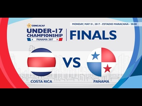 CU17PAN: Costa Rica vs Panama