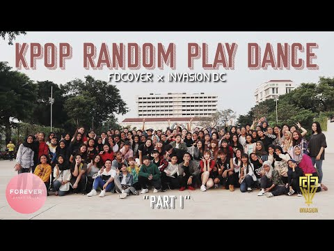 KPOP RANDOM PLAY DANCE in JAKARTA INDONESIA FD COVER & INVASION DC Part 1