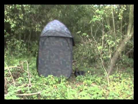 hutteau de chasse rapide camoufl youtube. Black Bedroom Furniture Sets. Home Design Ideas