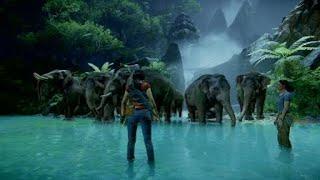 Uncharted™: Zaginione dziedzictwo beautiful console PlayStation 4 pro 4k hdr