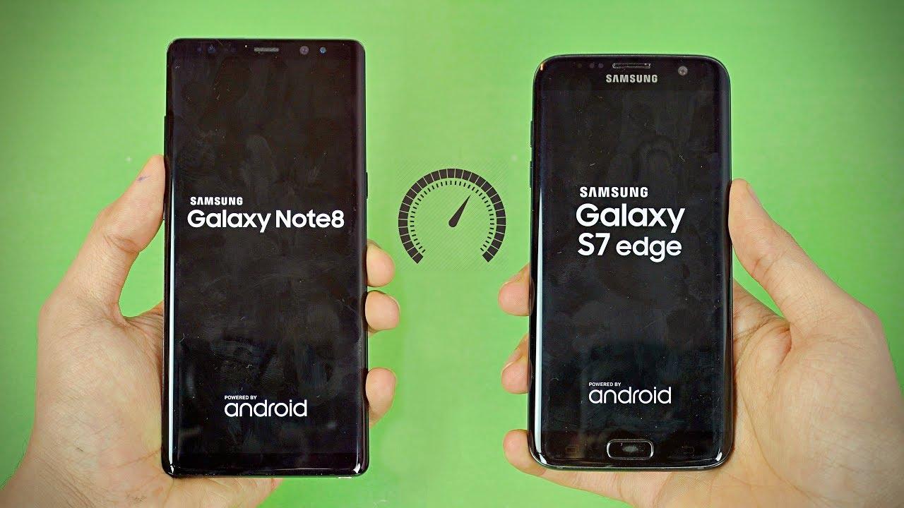 Samsung Galaxy Note 8 Vs S7 Edge