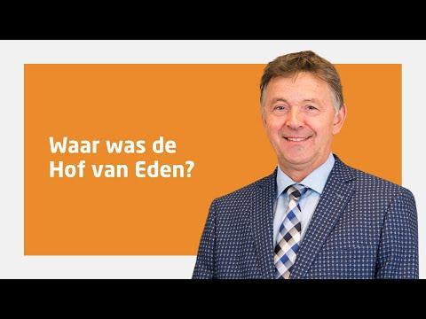 Ds. Kees Kant Over 'Waar Was De Hof Van Eden?'