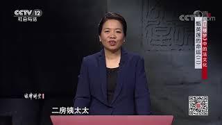 《法律讲堂(文史版)》 20191104 《红楼梦》中的法文化·甄英莲的命运(二)  CCTV社会与法