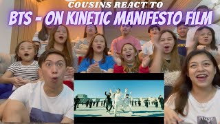 Download lagu COUSINS REACT TO BTS (방탄소년단) 'ON' Kinetic Manifesto Film : Come Prima