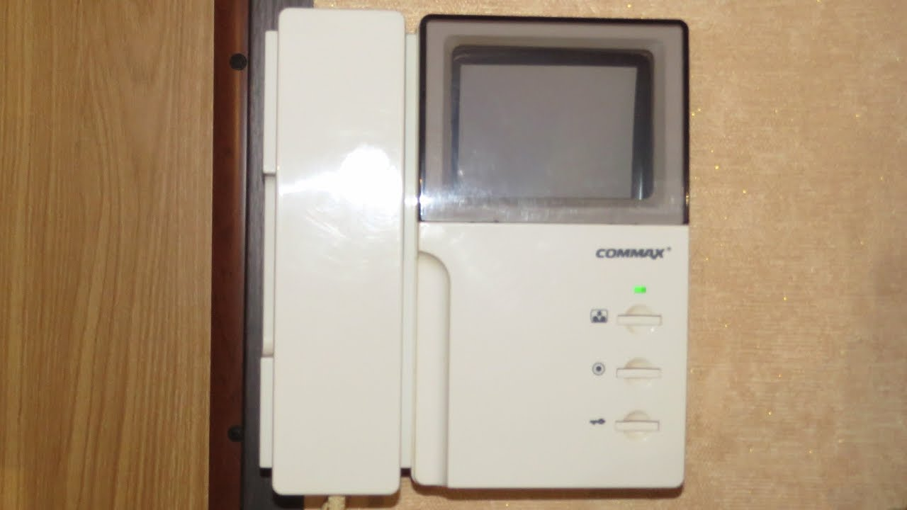 commax video door phone youtube rh youtube com