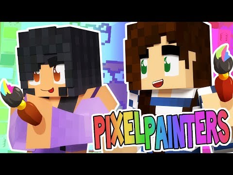 Painting Dogs With Stacy! | NEW PIXEL PAINTERS