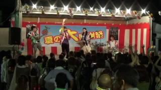 フラチナリズム 二本松商店街夏の大感謝祭20160824 オープニング~ひな...