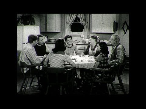 HD Historic Film Archive - Does Christ Live in Your Home? 1950s Lifestyle