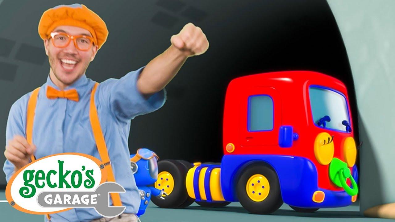 Baby Truck Song Gecko x @Blippi - Educational Videos for Kids  Children's Music