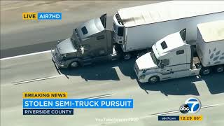 Southern California Police Chase (MUST WATCH 2019)