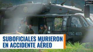 En trágico accidente mueren dos militares en Medellín