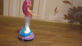 Лялька русалка - музична іграшка, світло, музика, каталка.