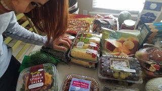 Trader Joe's Raw Vegan Grocery Haul   Non-GMO & Organic