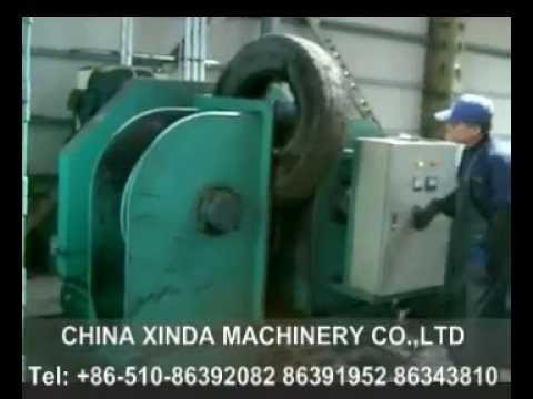 Large tyre Bead wire separator - YouTube