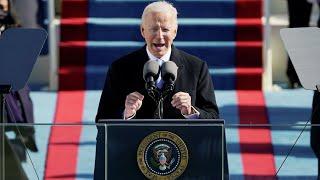 Срочно! Инаугурация Байдена! Первое обращение в качестве президента США