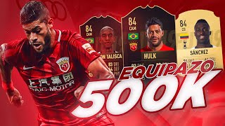 FIFA 19 | EQUIPAZO HIBRIDO 500K !! LIGA CHINA - PREMIER LEAGUE !!