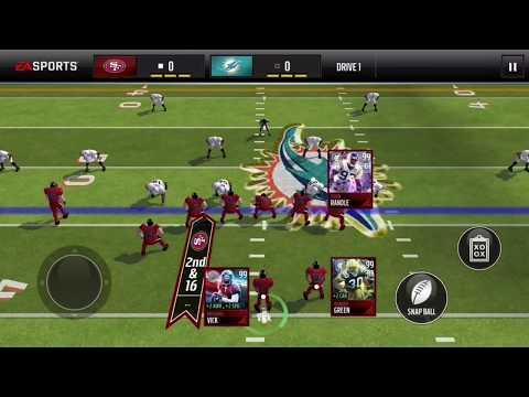 Madden Mobile - Ahman Green Highlights