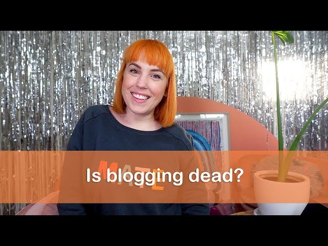 Is blogging dead? - Chromatical