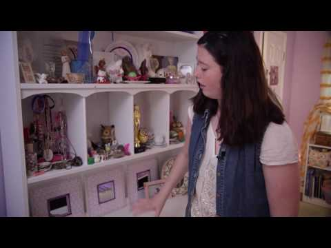 A Circle of Care video on YouTube shows kids and their family members talking about getting a room makeover through the Art From the Heart program.