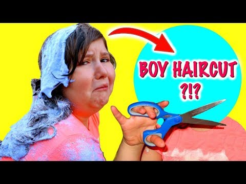 DID I GET THE SLIME OUT OF MY HAIR OR DID I HAVE TO SHAVE MY HEAD???   How to get slime out of hair