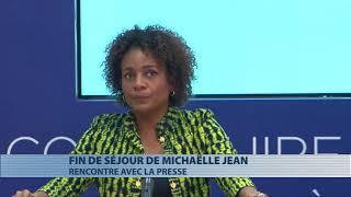 Fin de séjour de Michaëlle Jean au Bénin