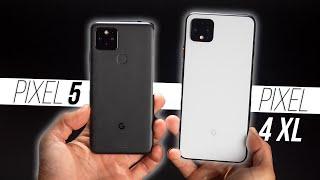 Google Pixel 5 vs Pixel 4 XL