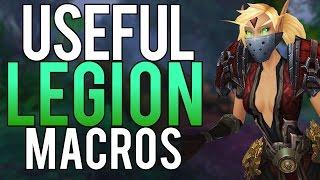 USEFUL LEGION PVP MACROS - Rogue PvP WoW Legion 7.2