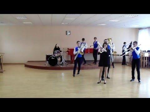 Ансамбль медных духовых инструментов Гродненского музыкального колледжа
