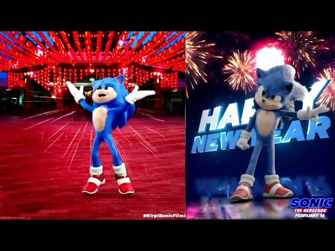 Sonic Movie   All New Years Scenes