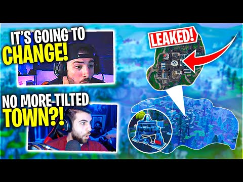 Tilted Town Disappears! Insane Map Update! (Fortnite Battle Royale)  FT. SypherPK