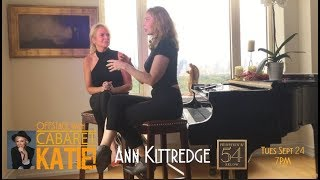 Offstage with Cabaret KATIE! – Ann Kittredge