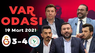 Rizespor'un Galatasaray galibiyeti – Ertem Şener ile VAR Odası – 19 Mart 2021