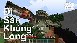 Minecraft CVKL Đặc Biệt Tập 2 - Đi Săn Khủng Long | POBBrose ✔