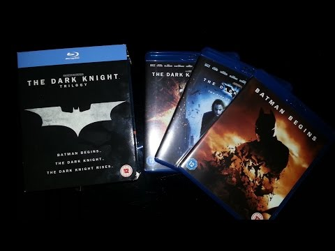 The Dark Knight Trilogy Blu-Ray Box Set Product Review