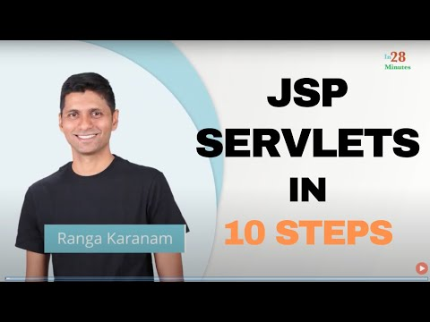 Java Servlets and JSP  : First Java Web Application In 25 Steps