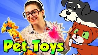 Cat & Dog DIY Crafts - Pet Toys DIY | Arts and Crafts with Crafty Carol at Cool School