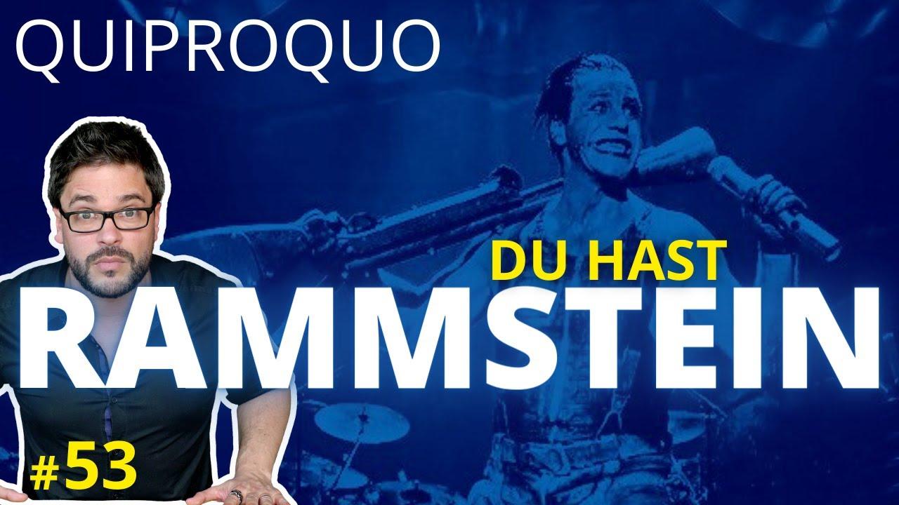 L'histoire de DU HAST de RAMMSTEIN - UCLA
