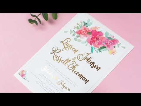 Wedding Invitations and Paper Goods - EivisSa Kind Designs
