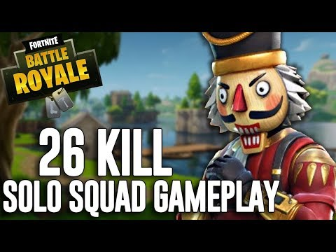 My BEST 26 Kill Solo Squad Win!! - Fortnite Battle Royale Gameplay - Ninja