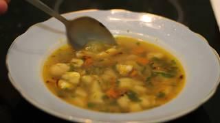 ВКУСНЕЙШАЯ УХА. Как приготовить рыбный суп?! УХА. Суп из хека