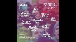Acto de campaña de Unidas Podemos en Madrid