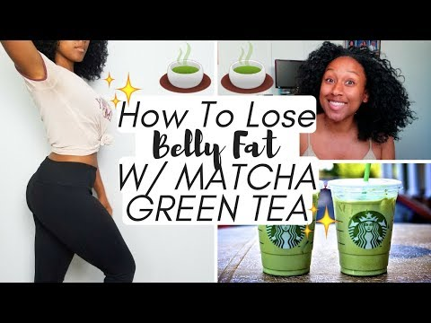 how-to-lose-belly-fat-with-matcha-green-tea