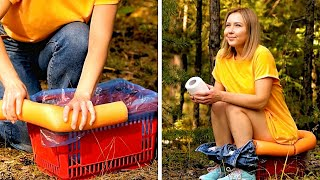 Let's Go Camping! Cool Outdoor Hacks, Camping Tricks, Travel Tips By A PLUS SCHOOL