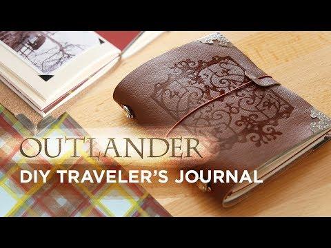 Outlander DIY Traveler's Journal | Sea Lemon