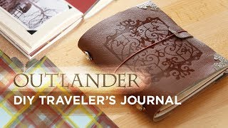 Outlander DIY Traveler's Journal | Sea Lemon