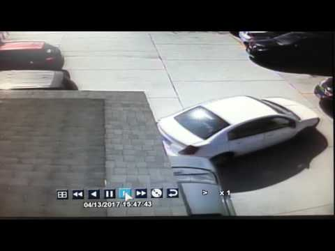 Hit n Run at parking lot beauty college